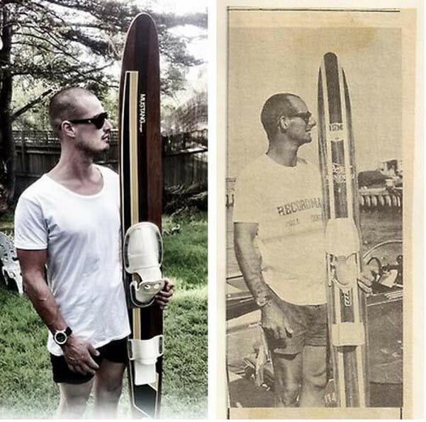 Австралиец Алекс Лютер поставил мировой рекорд на водных лыжах