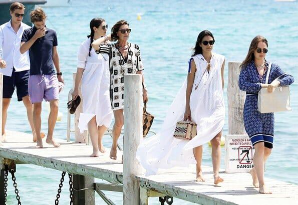 Дела княжеские: князь Монако с супругой посетили Гала Красного Креста