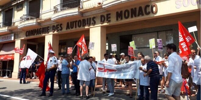 Забастовка водителей автобусов в Монако продолжается