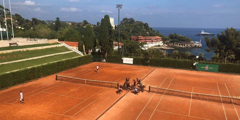 В теннисном турнире в княжестве приняло участие 340 игроков