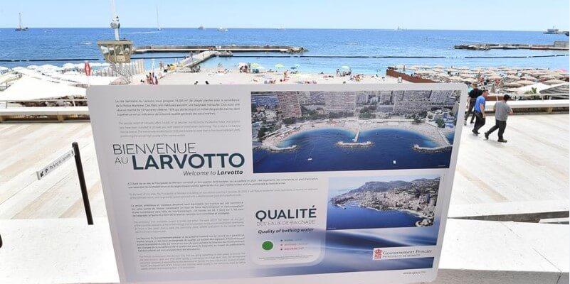 В Монако ведется регулярная проверка морской воды