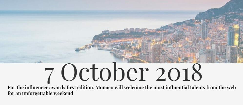 Церемония Influencer Awards 2018 Monaco