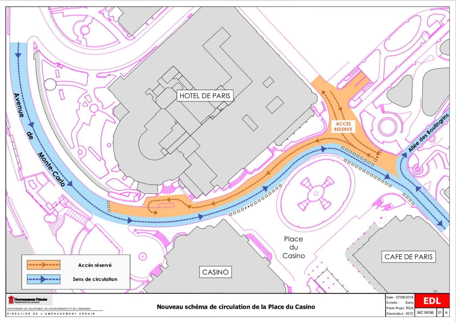 MC State News: новая схема движения на площади Казино