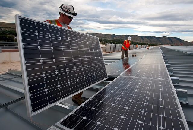 Солнечная электростанция на крыше Monte-Carlo Bay