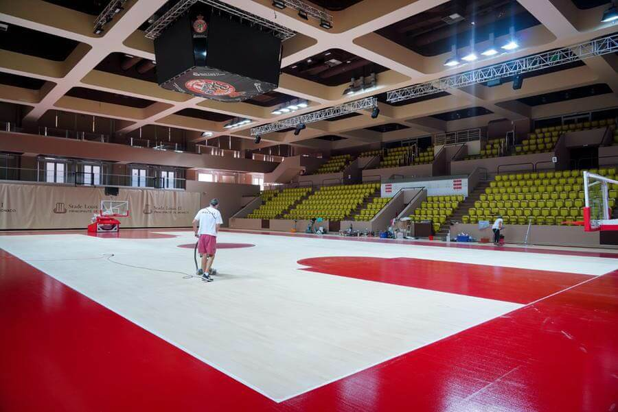 MC State News: реконструкция баскетбольного зала Gaston Médecin