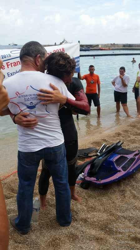 Невероятное эко-приключение Реми Камю завершилось на пляже Ларвотто