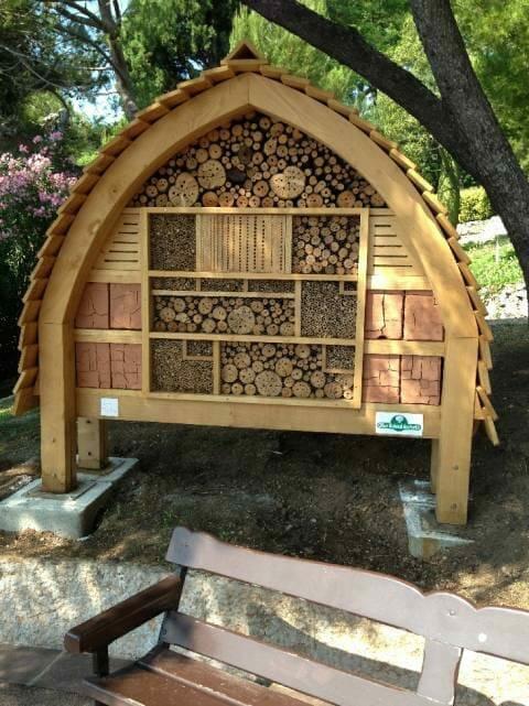 """Монегасская """"гостиница"""" для насекомых как инструмент повышения осведомленности"""