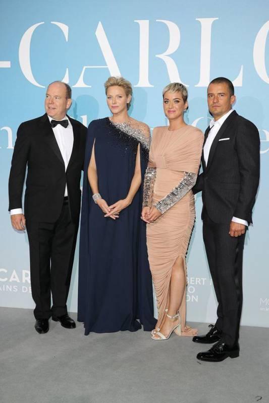 Дела княжеские: княжеская пара на Ocean Gala в Монако