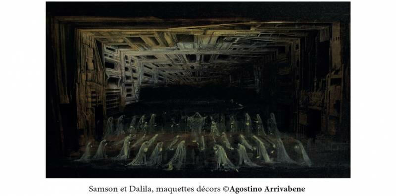 Опера «Самсон и Далила» в Гримальди Форуме