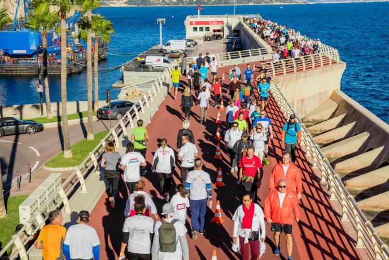 19-й благотворительный забег No Finish Line