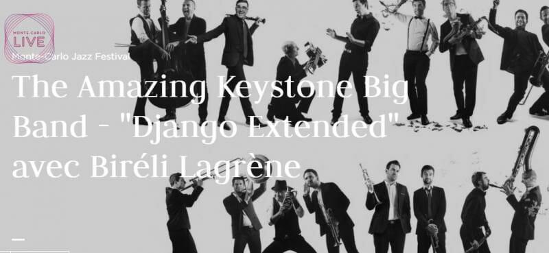 Концерт в рамках 13-го джазового фестиваля Монте-Карло