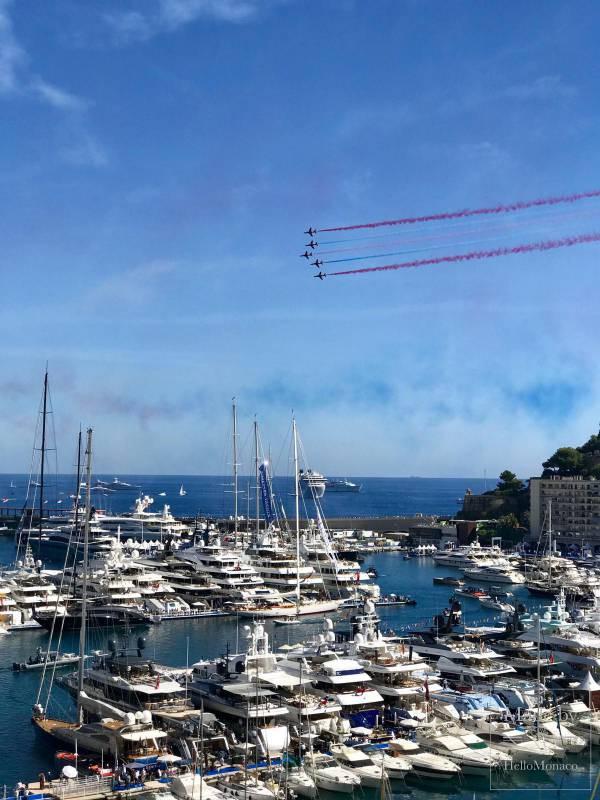 """""""Воздушный сюрприз"""" на Яхт-шоу Монако 2018"""