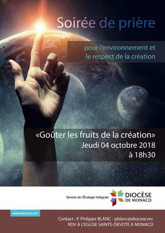 Всемирный день молитвы о защите Создания в Монако