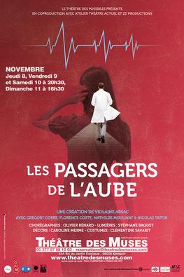 "Спектакль ""Les passagers de l'aube"" в Театре Муз"