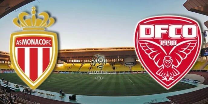 Футбольный матч Лиги 1. «Монако» — «Дижон»