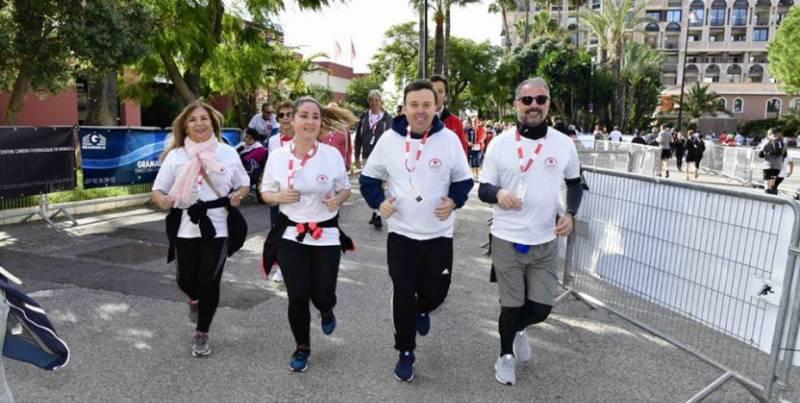 В Монако прошел благотворительный забег No Finish Line 2018