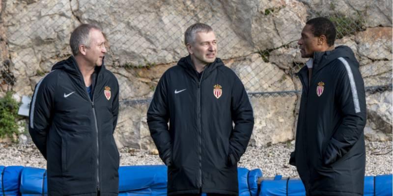 Президент ФК «Монако» посетил тренировку команды