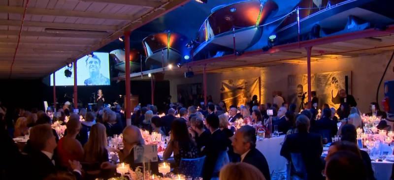 Дела княжеские: князь Монако на церемонии вручения Futurum Award