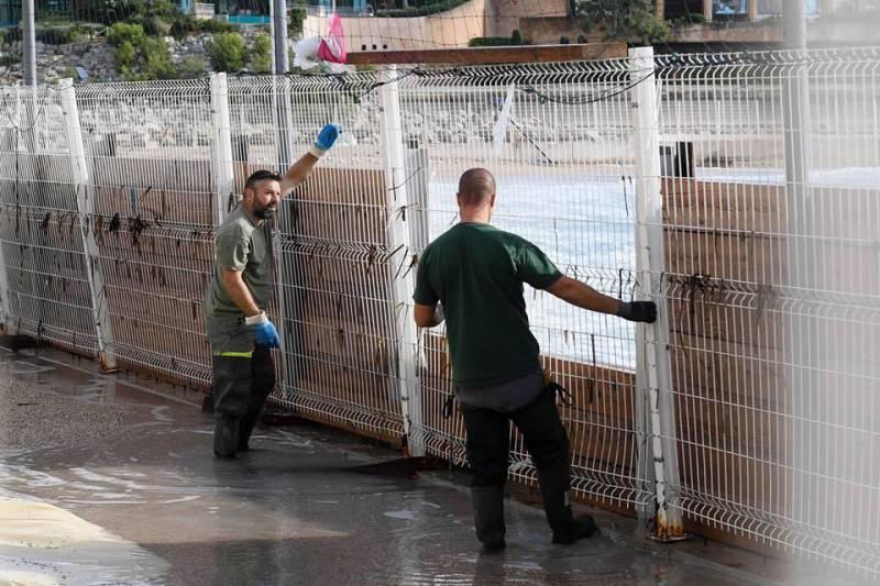 """Восстановительный процесс в Монако после бури """"Адриан"""""""