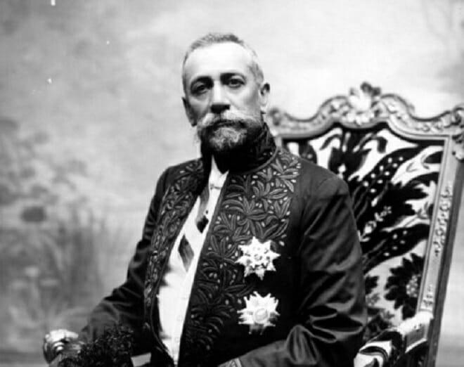 Князь Альбер I, отец Луи IIКнязь Альбер I, отец Луи II