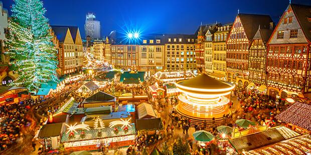 Marche Noel в Страсбурге