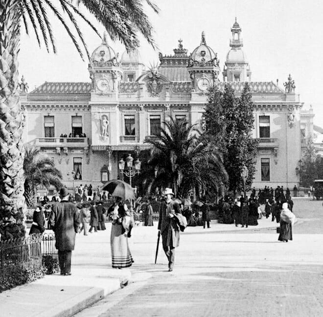Казино Монте-Карло в 1898 году