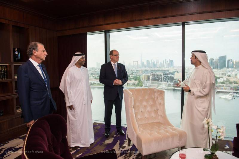 Дела княжеские: князь Монако с официальным визитом в Дубае