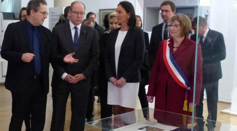 Князь Монако завершил «дорогу памяти» в Перонне