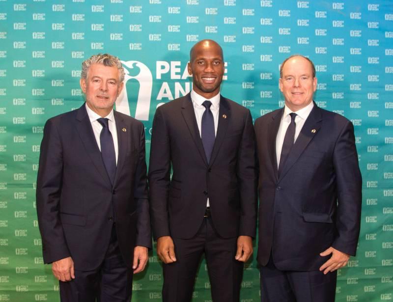 Дидье Дрогба назначен вице-президентом Peace and Sport