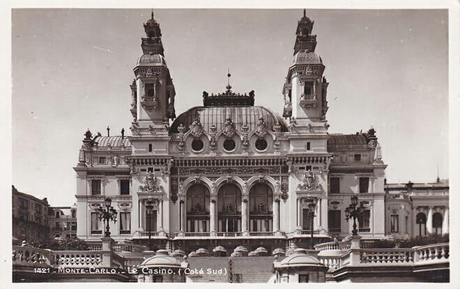Казино Монте-Карло в 1921 году