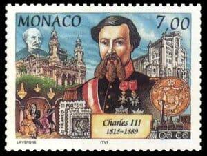 почтовая марка Монако