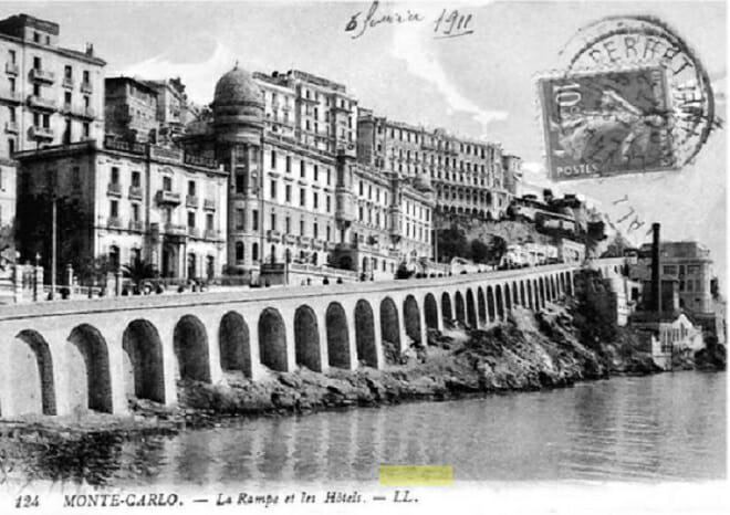 Набережная в 1911 году