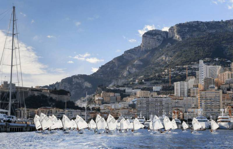 Регата Monaco Optimist Team Race