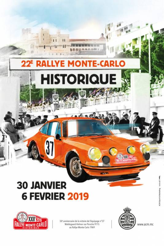 22-е Историческое ралли Монте-Карло