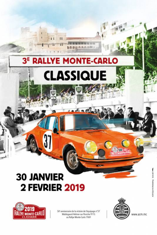 3-е Классическое ралли Монте-Карло