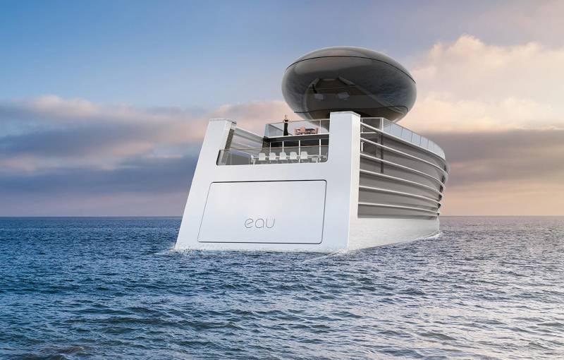 Новая электрическая яхта EAU и другие новости