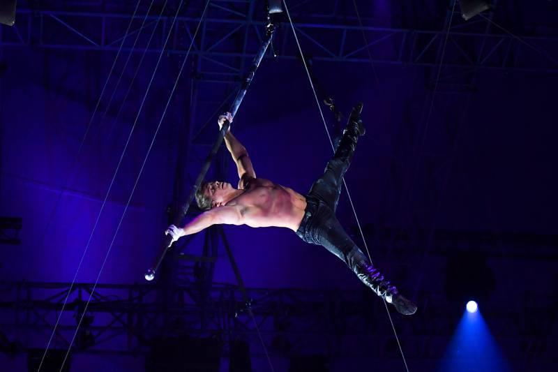 Запуск 43-го Международного циркового фестиваля Монте-Карло