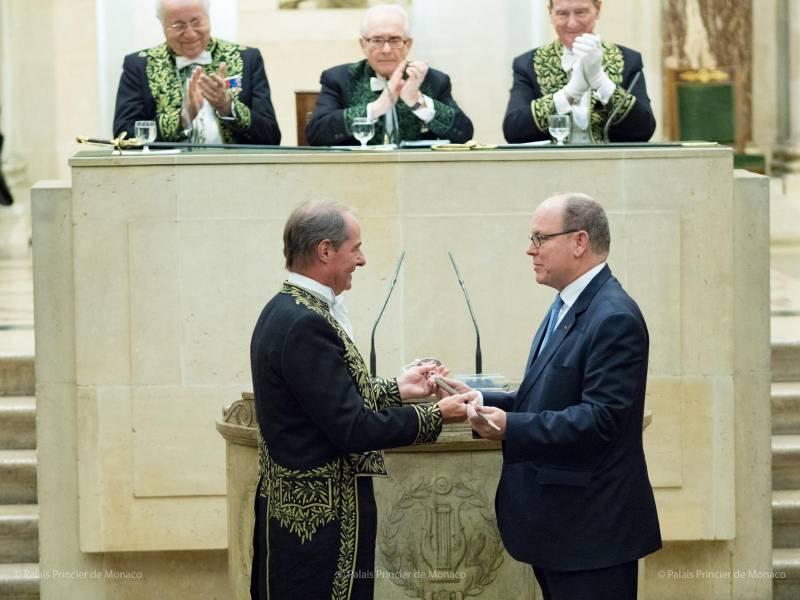 Дела княжеские: князь Альбер II в Париже
