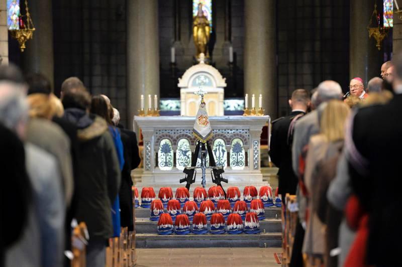Карабинеры отпраздновали день Святого Себастьяна
