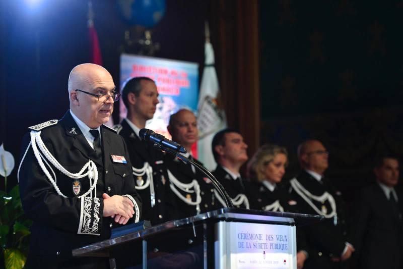 Церемония поздравления от Управления общественной безопасности