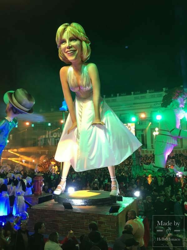 Королева карнавала - Ницца