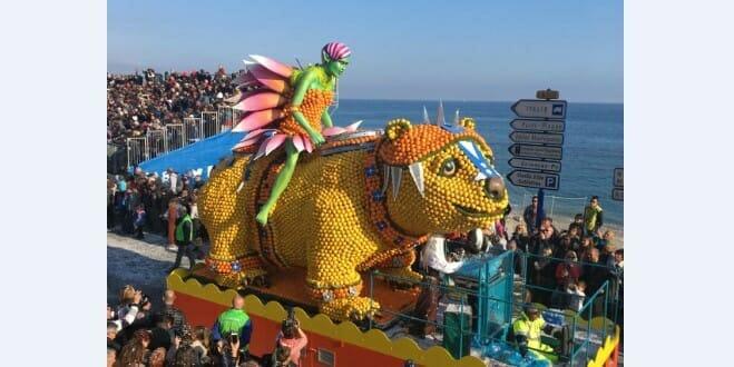 Самый сочный лимонный карнавал в мире в двух шагах от Монако