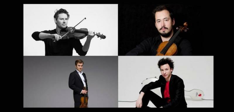 «Весна искусств»: концерт Quatuor Renaud Capuçon