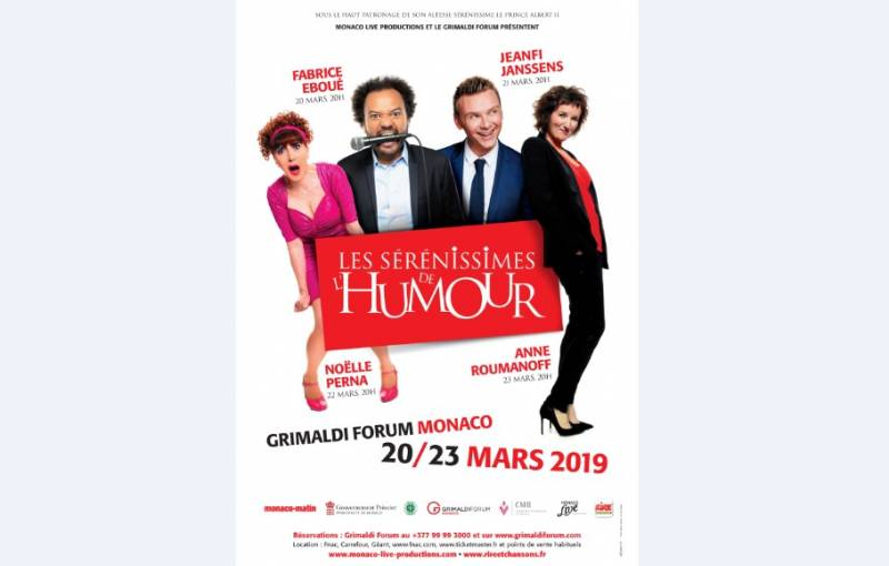 "Комедийные выступления ""Les Sérénissimes de l'Humour"""