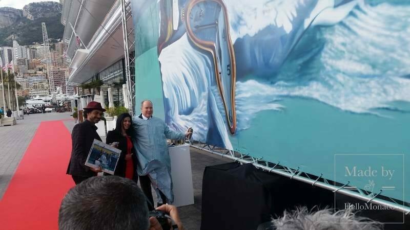 Бразильский уличный художник Kobra с экологическим вкладом в жизнь княжества