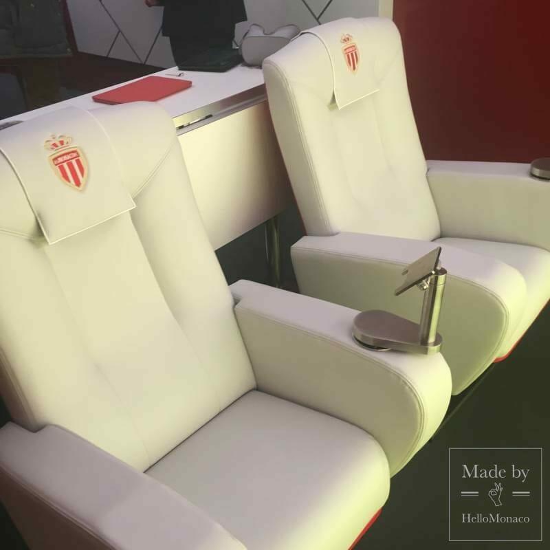 Олег Петров презентовал новые VIP-ложи стадиона Луи II