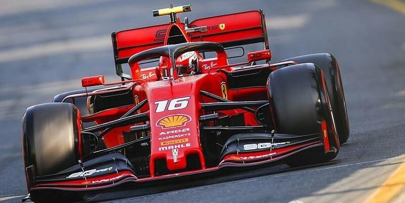 Шарль Леклер 5-й в Гран-при Австралии