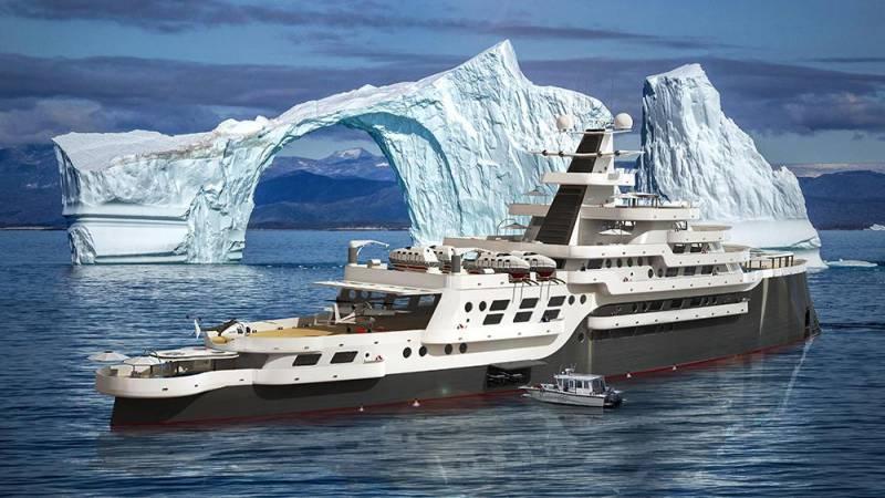 105-метровая экспедиционная яхта Esquel от Oceanco и другие новости