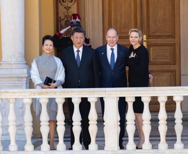 Государственный визит Председателя КНР в Княжество Монако