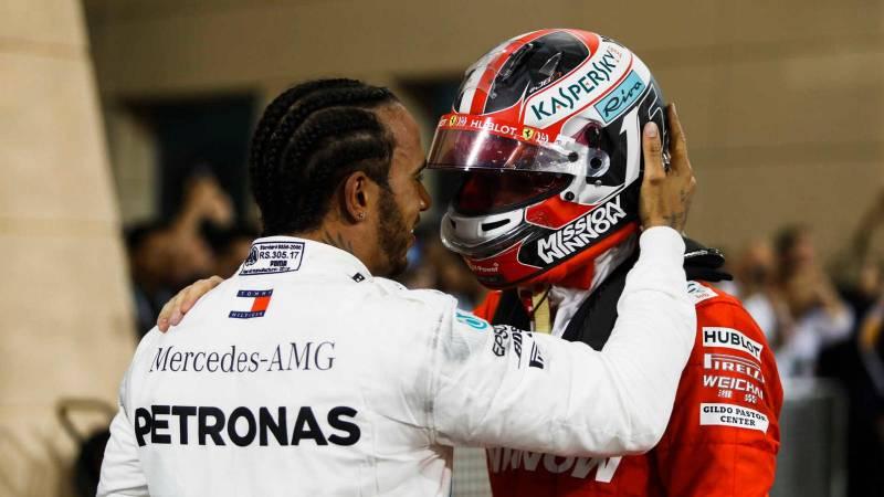 Шарль Леклер третий на Гран-при Формулы 1 в Бахрейне